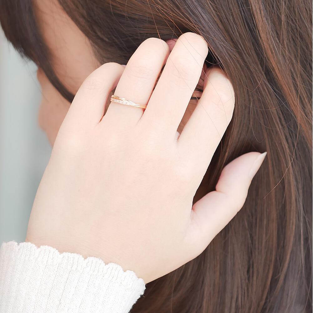 Lovers & Ring ペアリング 10金 18金 プラチナ