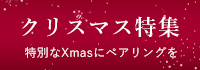 クリスマス特集 特別なギフトにペアリングを